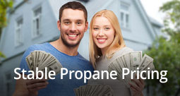 Stable propane budget billing plan