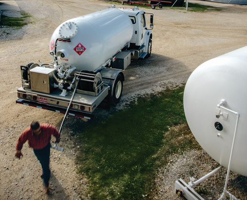 Construction Builders Job Site Propane Service - Commercial Propane Service