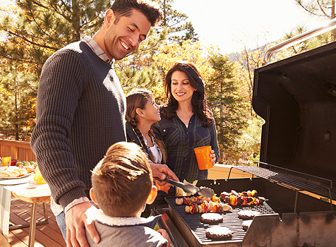 Family Grilling - Propane Grilling - Propane Gas