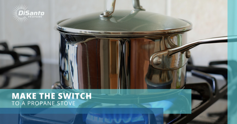 Make The Switch To A Propane Stove